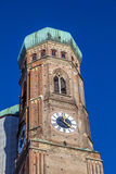Tower of Famous Munich Cathedral - Royalty Free Stock Image