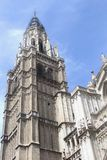 Tower of the Saint Mary Cathedral of Toledo,Spain Stock Image