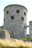 Tower Fars Hatt at Bohus fortress vertical Stock Images