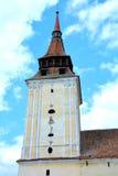 Tower of feldioara (Marienburg) fortified church Stock Photography