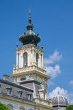 Tower of Festetics Palace in Keszthely town, Hungary Royalty Free Stock Photography