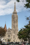 Tower of Fisherman`s Bastion in Budapest. Hungary Stock Photography