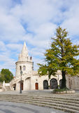 Tower of Fishermen's Bastion Royalty Free Stock Image