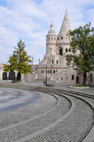 Tower of Fishermen's Bastion Royalty Free Stock Photography