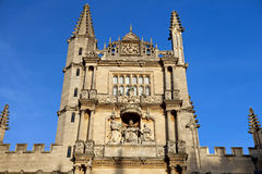 Tower of the five Orders, Oxford royalty free stock photo