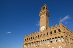 Tower, Florence, Italy. Tower in Florence. View from museum patio. Italy Stock Images