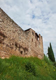 Tower with fortification walls Stock Photography