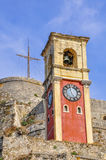 The tower in the fortress of Corfu Royalty Free Stock Photo