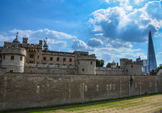 Tower fortress of  London Stock Photography