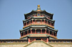 Tower of the Fragrance of the Buddha (Foxiang Ge) Royalty Free Stock Photo