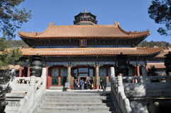 Tower of the Fragrance of the Buddha (Foxiang Ge) Stock Images