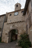 Tower in France's Cordes-sur-Ciel Royalty Free Stock Photo