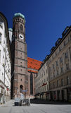 Tower Frauenkirche in Munich Royalty Free Stock Photos