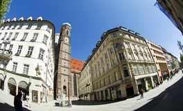 Tower Frauenkirche in Munich Stock Images