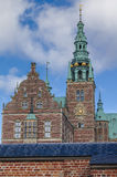 Tower of Frederiksborg Palace, Denmark Royalty Free Stock Photo