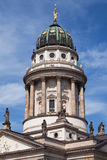 Tower of the French Cathedral in Berlin Royalty Free Stock Photography