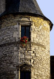 Tower in french town Stock Image