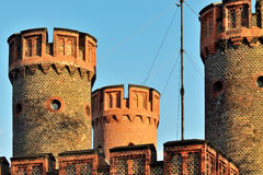 Tower Friedrichsburg gate on a summer evening. Kaliningrad, form Royalty Free Stock Image