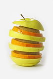Tower From Fruit. Stock Photos