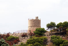 Tower in gallipoli Royalty Free Stock Photo