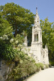 Tower in gardens of Quinta da Regaleira Royalty Free Stock Photo
