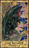 Tower. Gargoyle. Stock Images