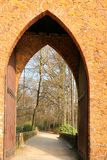 Tower gate in Brasschaat, Belgium Stock Photography