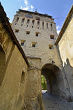 Tower gate  Sighisoara Stock Images