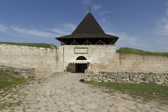 Tower and gate to the Fortress Stock Photography