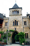 Tower gateway to the castle Marienburg (Germany) Stock Photos