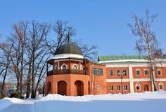 Tower gazebo of the Nicholas Ugreshsky Monastery Stock Images