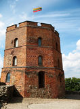 Tower of Gediminas. Symbol of Vilnius - Tower of Gediminas stock images