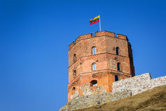 Tower of Gediminas Stock Images
