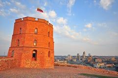 Tower of Gediminas, symbol of Vilnius Royalty Free Stock Photos