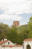 Tower of Gediminas. Symbol of Vilnius. Lithuania Stock Photos