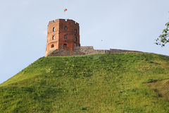 Tower of Gediminas, symbol of Vilnius Stock Photos