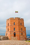 Tower of Gediminas  in Vilnius, Lithuania Royalty Free Stock Photography