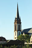 Tower of german catholic church Royalty Free Stock Photography