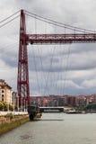 Tower of Getxo, Vizcaya Bridge Royalty Free Stock Photo