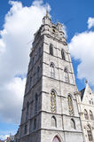 Tower of Ghent Royalty Free Stock Photography