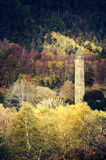 Tower in Glendalough in spring and autumn time Royalty Free Stock Images