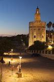 Tower of the gold,  Seville Royalty Free Stock Photo