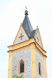 Tower of gothic church Royalty Free Stock Image