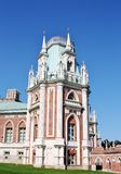 Tower of Grand Palace  in Tsaritsynro (Moscow) Stock Photography