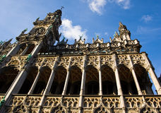 The tower on Grand Place Royalty Free Stock Images
