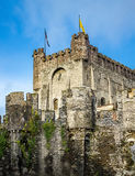 The tower of Gravensteen Royalty Free Stock Photography