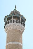 The tower of the Great mosque in Tunis Royalty Free Stock Image
