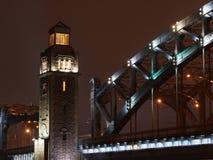 Tower of Great Piter bridge Royalty Free Stock Image