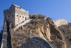 Tower of the Great Wall Stock Photo