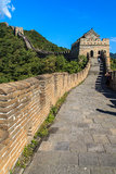 Tower on the great wall of China royalty free stock image
